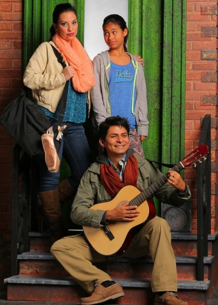 ricia Marciel as Paula; Stephanie Zaharis as Lucy and Pedro Haro as Elliot