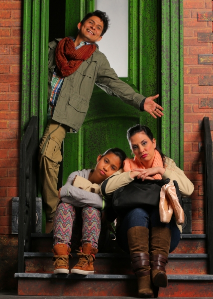 Pedro Haro as Elliot, Stephanie Zaharis as Lucy and Tricia Marciel as Paula