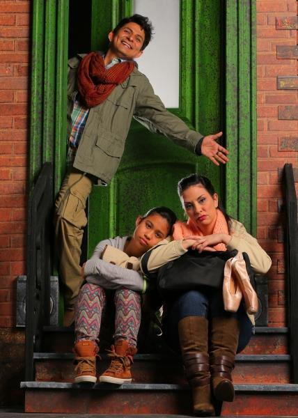 Pedro Haro as Elliot, Stephanie Zaharis as Lucy and Tricia Marciel as Paula