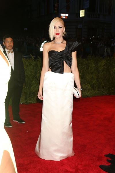 Mandatory Credit: Photo by Erik Pendzich / Rex USA (1290862at)Gwen StefaniCostume Institute Gala Benefit celebrating the Punk: Chaos To Couture exhibition, Metropolitan Museum of Art, New York, America - 06 May 2013WEARING MAISON MARTIN MARGIELA