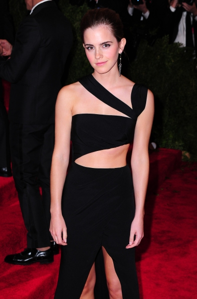 Mandatory Credit: Photo by Everett Collection / Rex USA (1290865v)Emma WatsonCostume Institute Gala Benefit celebrating the Punk: Chaos To Couture exhibition, Metropolitan Museum of Art, New York, America - 06 May 2013