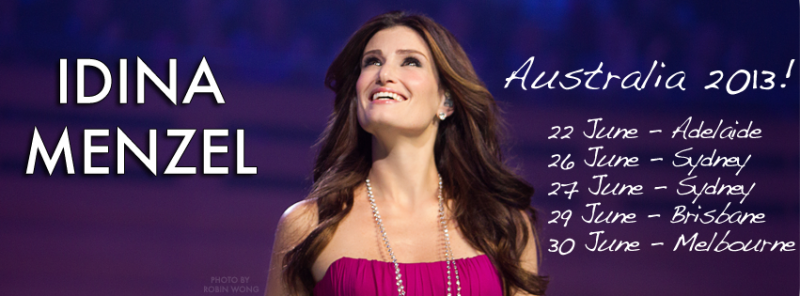 Idina Menzel Adds Australian Tour Dates