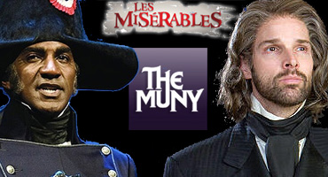 BWW Exclusive: Hugh Panaro and Norm Lewis to Star in LES MISERABLES at the Muny July 15 - 21; Highly Anticipated Cast Announced!