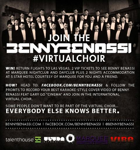 Benny Benassi Launches Online Choir Campaign