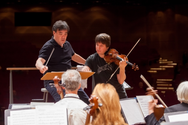 Alan Glibert and Joshua Bell