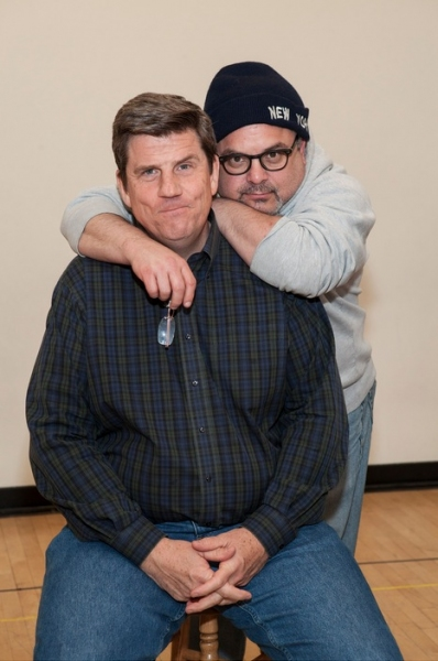 Playwright Rod McLachlan and director Bob Krakower