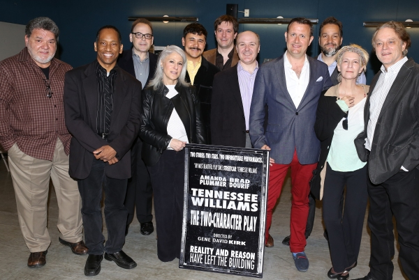 Director Gene David Kirk, Amanda Plummer & Brad Dourif with the Producing Team
