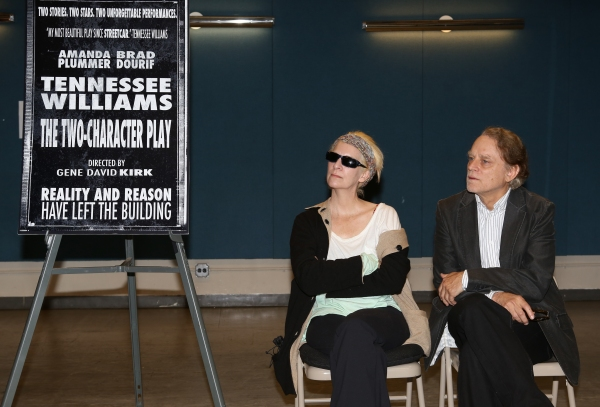 Photo Coverage: Amanda Plummer & THE TWO CHARACTER PLAY Cast Meet the Press