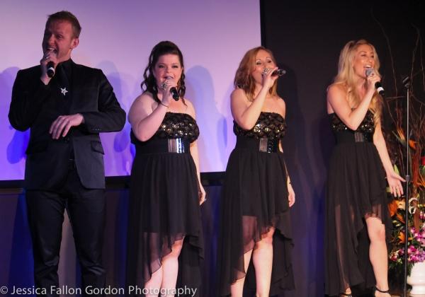 Marty Thomas, Marisa Rosen, Alexa Green and Kelly King  Photo