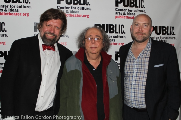 Oskar Eustis, Richard Foreman and Patrick Willingham