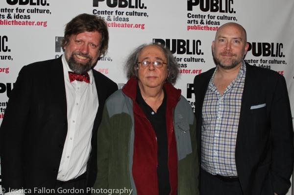 Oskar Eustis, Richard Foreman and Patrick Willingham