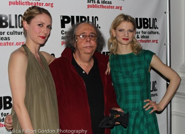 Stephanie Hayes, Richard Foreman and Alenka Kraigher