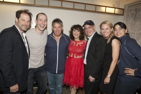 Kurt Deutsch, Charlie Alterman, Stephen Schwartz, Andrea Martin, Howard Kagan, Janet Kagan and Nadia Di Giallonardo