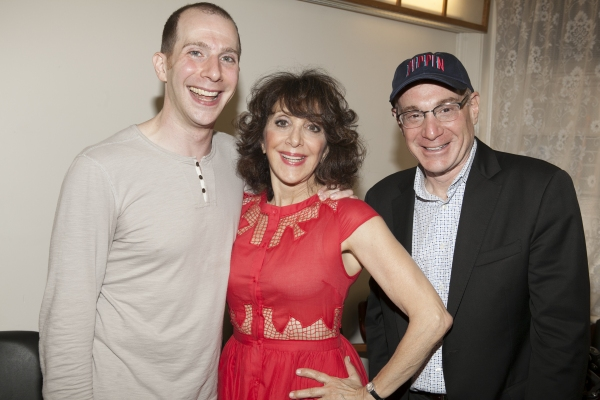 Charlie Alterman, Andrea Martin and Howard Kagan