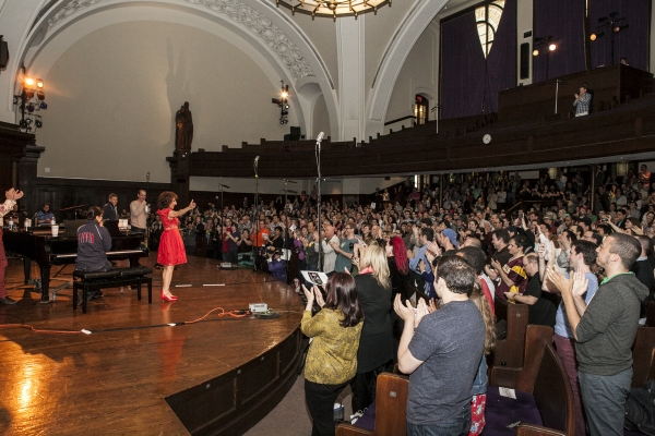 Photo Coverage: Andrea Martin Records 'No Time At All' with 800 PIPPIN Fans!