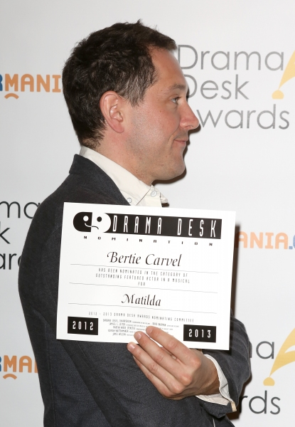FREEZE FRAME: Bertie Carvel's Mugshot at the 2013 Drama Desk Reception