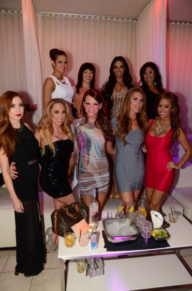 Photo Flash: X Burlesque Celebrates 11th Anniversary at PURE Nightclub