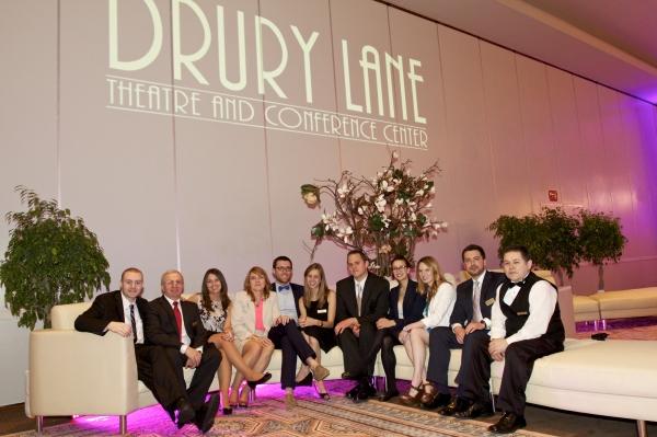 Photo Flash: Drury Lane Theatre Unveils Renovated Ballroom, Restaurant and Lobby