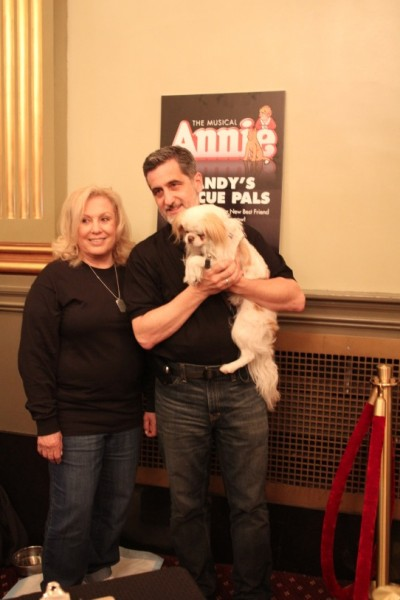 Photo Flash: ANNIE's Bill Berloni and More Celebrate Launch of Sandy's Rescue Pals