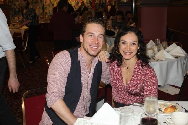 Nathan Madden and Gabriela Garcia