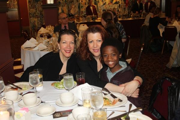 Adinah Alexander, Jennifer Perry and Cole Bullock