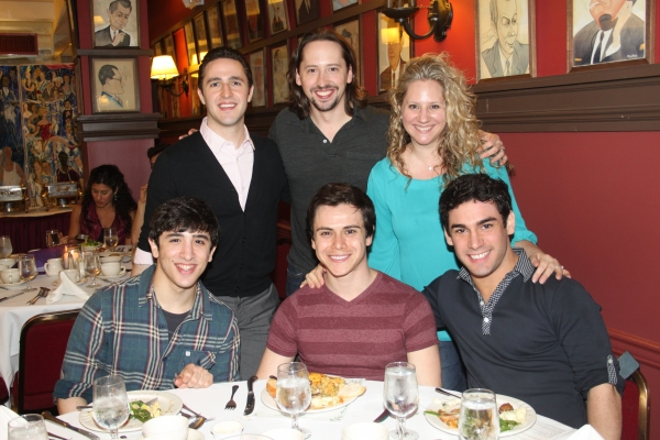 Russell Fischer, J. Michael Zygo, Jillian Zygo, Jess LeProtto, Tommy Martinez and Tommy Bracco