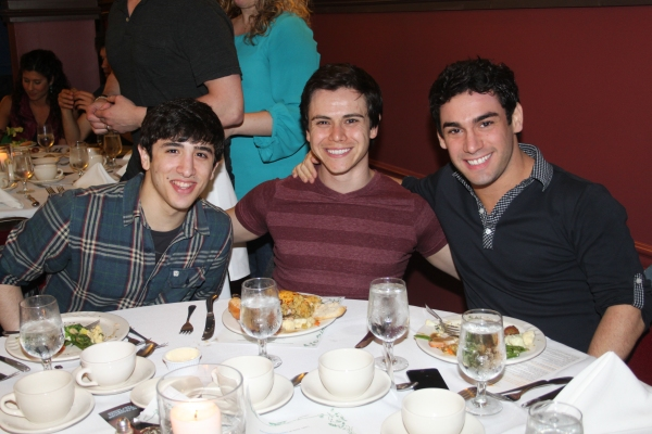 Jess LeProtto, Tommy Martinez and Tommy Bracco