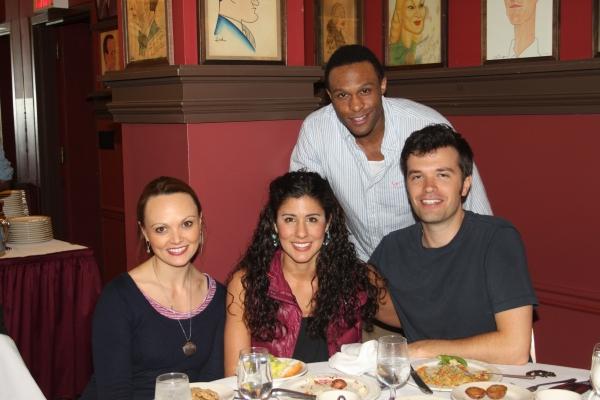 Jarran Muse, Sabrina Harper, Deanna Aguinaga and Blake Whyte Photo