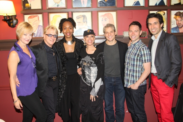 Caitilin Carter, Chet Walker, Francesca Harper, Mercedes Ellington, Alex Sanchez, Tim Federle and Josh Rhodes