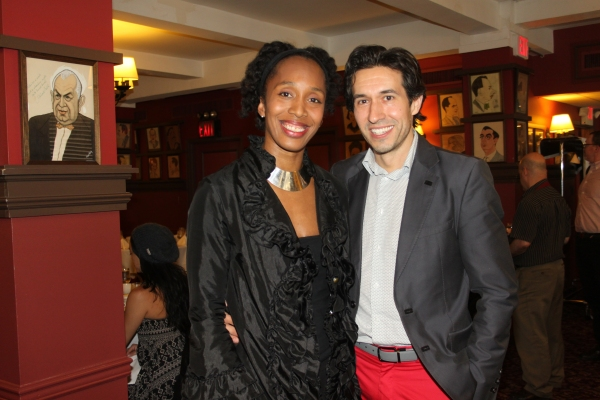 Francesca Harper and Josh Rhodes
