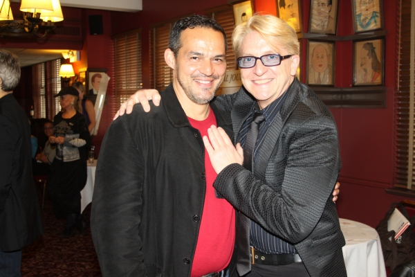 Ruben Flores and Chet Walker