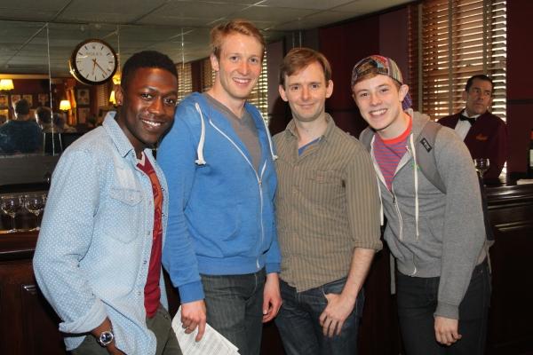 Delius Doherty, Daxton Bloomquest, Scott Barnhardt and Jeff Heimbrock Photo