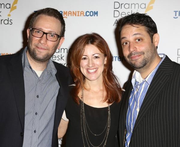 David Rossmer, Kate Weatherhead and Steve Rosen
