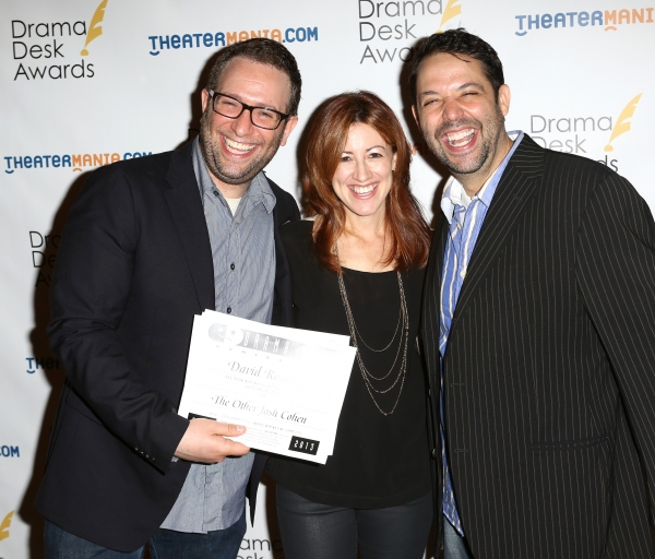 David Rossmer, Kate Weatherhead and Steve Rosen