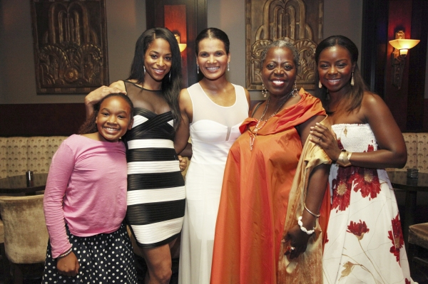 Cast members Skye Barrett, Vivian Nixon, January LaVoy, Lillias White and Erica Tazel
