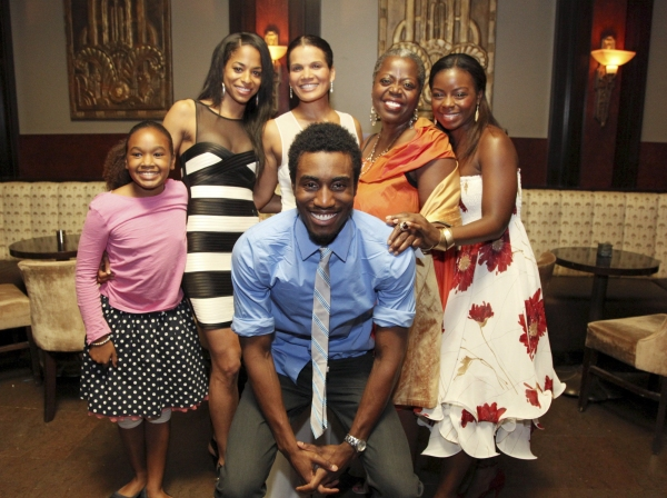 Cast members Gabriel Brown, Skye Barrett, Vivian Nixon, January LaVoy, Lillias White and Erica Tazel