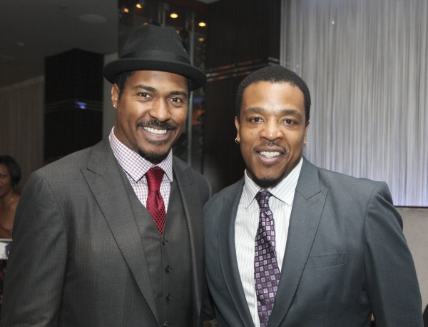 Ben Cain and Russell Hornsby