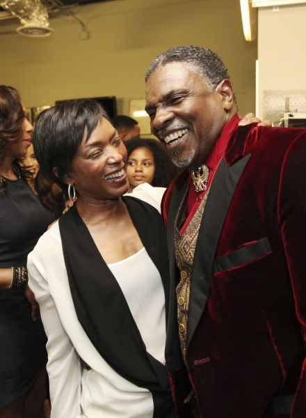 Angela Bassett, Keith David