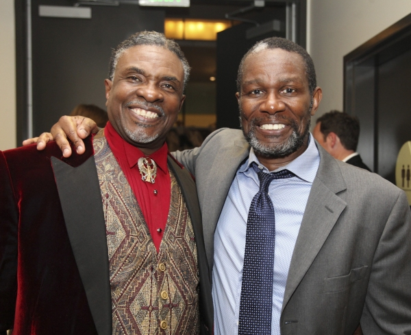 Keith David and John Douglas Thompson