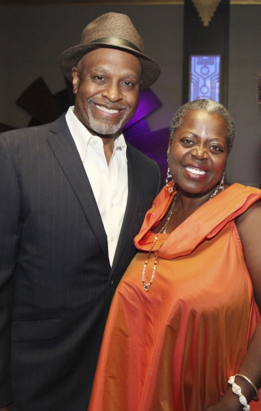 James Pickens, Jr. and cast member Lillias White