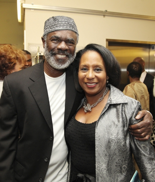 Cast member Glynn Turman and wife Jo-An Turman