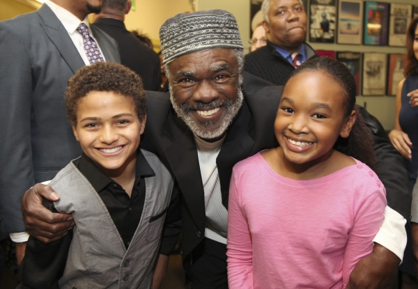 Cast members Nathaniel James Potvin, Glynn Turman and Skye Barrett