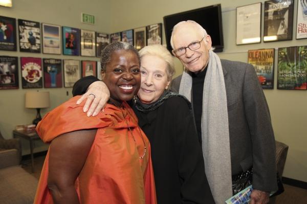 Lillias White, Marilyn Bergman and Alan Bergman Photo