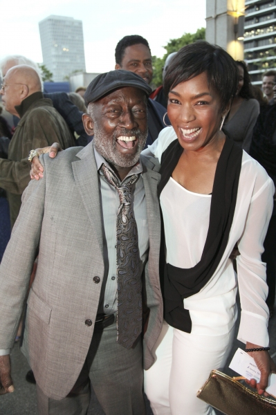 Garrett Morris and Angela Bassett