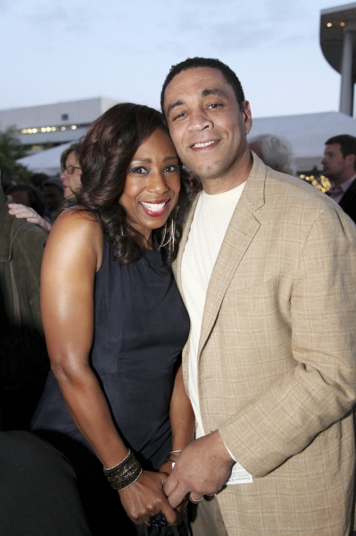 Dawnn Lewis and Harry Lennix