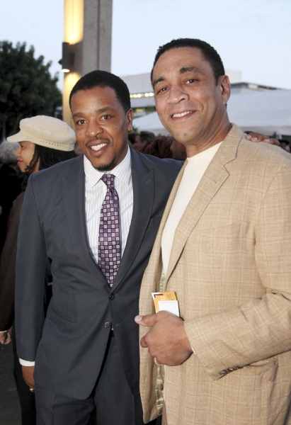 Russell Hornsby and Harry Lennix
