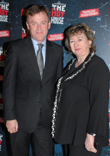 Michael Lynas and Rosemary Squire Photo