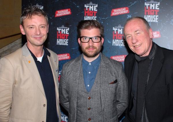 John Simm, Jamie Lloyd and Christopher Timothy Photo