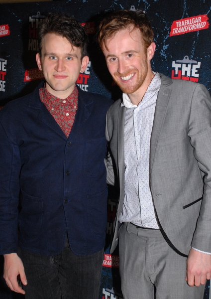 Harry Melling and John Heffernan