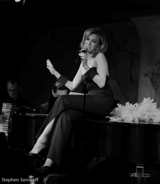 Photo Coverage: Yanna Avis Brings IN LOVE WITH LOVE to Cafe Carlyle
